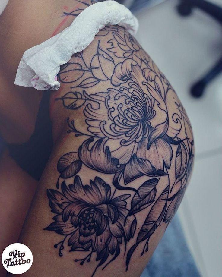 20 Hip Tattoos Thigh Piece Ideas And Designs