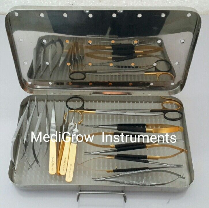 Micro Surgery instruments set