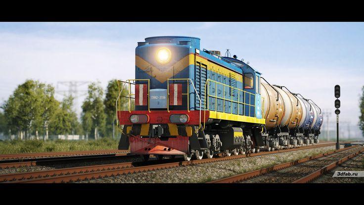 3DFAB. Modeling & render train TEM2