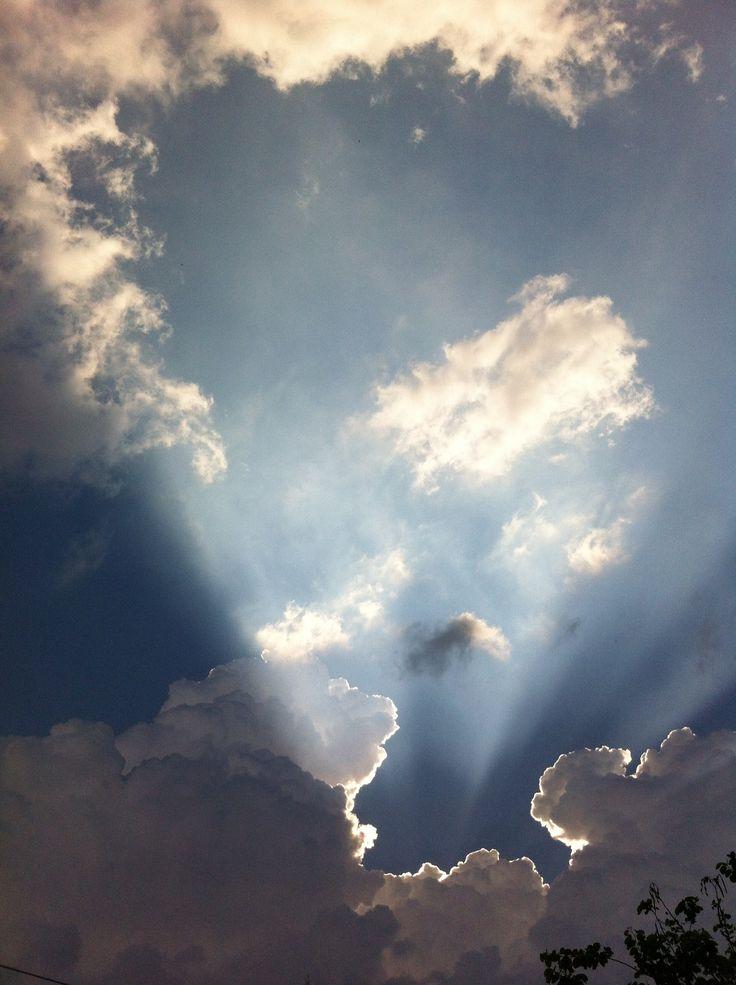 A ray of hope, Pretoria.