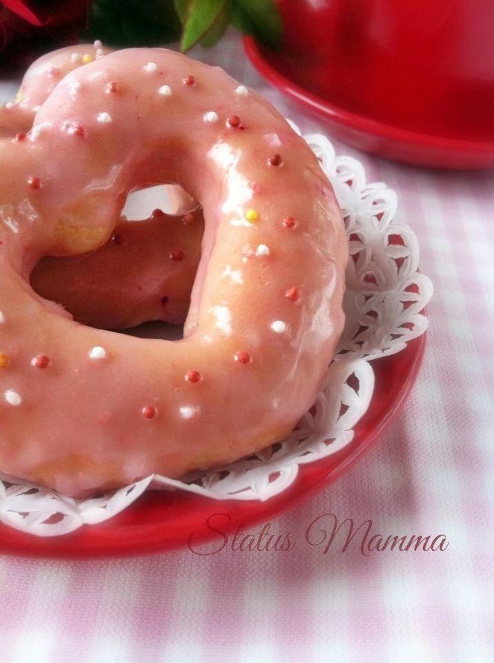 Ciambelle a cuore cottura al forno, ricetta San Valentino | Status mamma