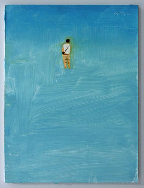 Alex Katz, Study for Beach Scene (2012)