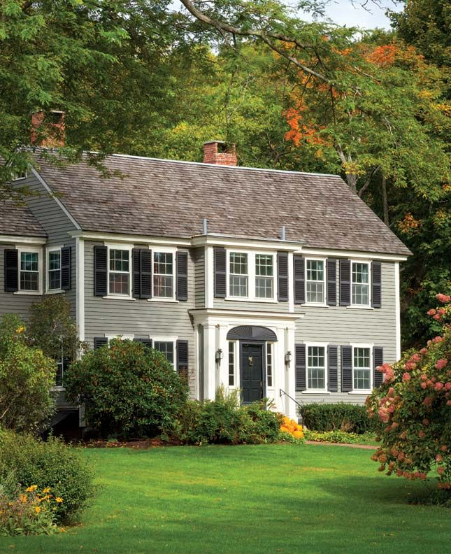 25 best federal style house ideas on pinterest federal architecture classic house exterior for Federal style home exterior paint colors