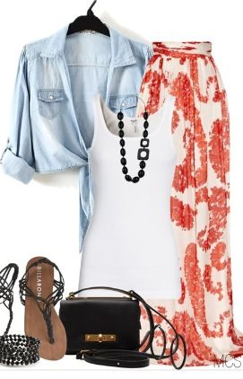 Perfect outfit for any cookout!