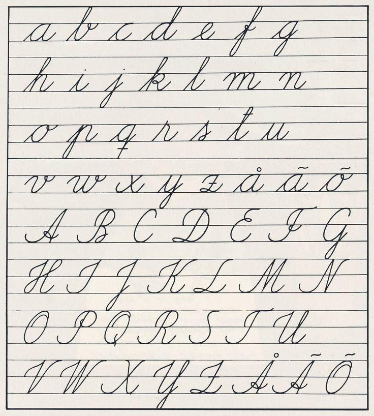 perinteinen kaunokirjoitus
