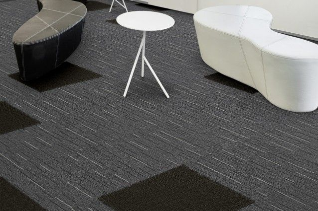 Blend from the Zipline carpet tile range from Carpets Inter. Available in Australia from Above Left.