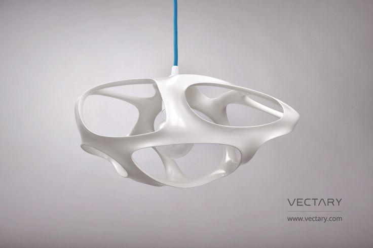Weekend dyi project: 3D printed lamp Vivia #interior #lamp #3Dprinting #interiordesign #pendant #ikeahack #homedecor