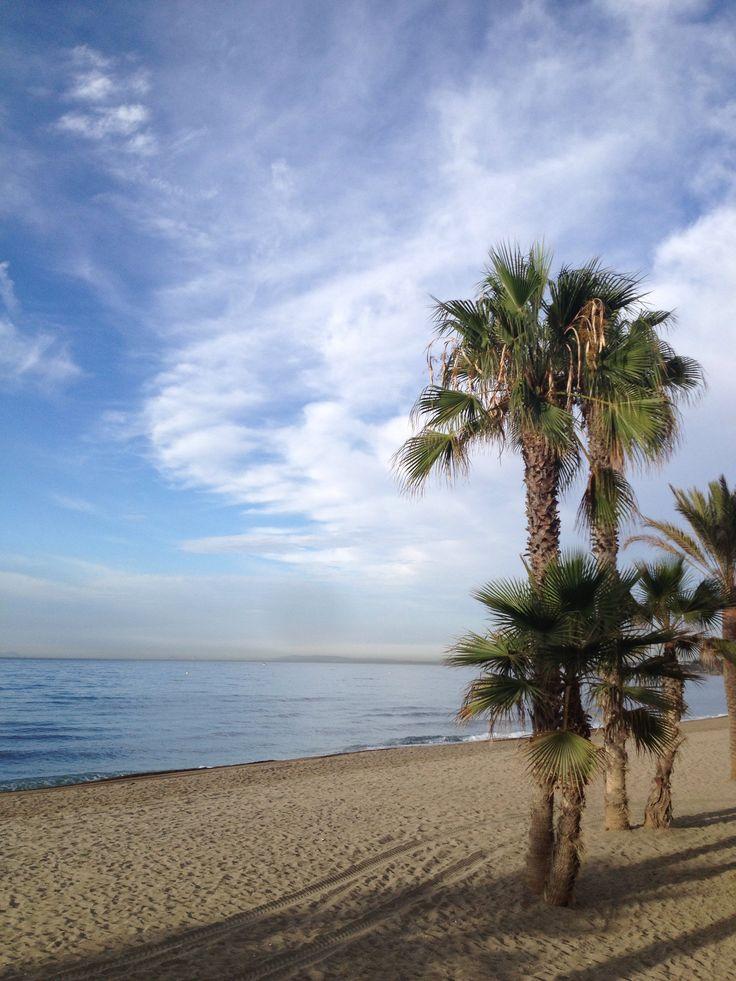 Marbella beach espana