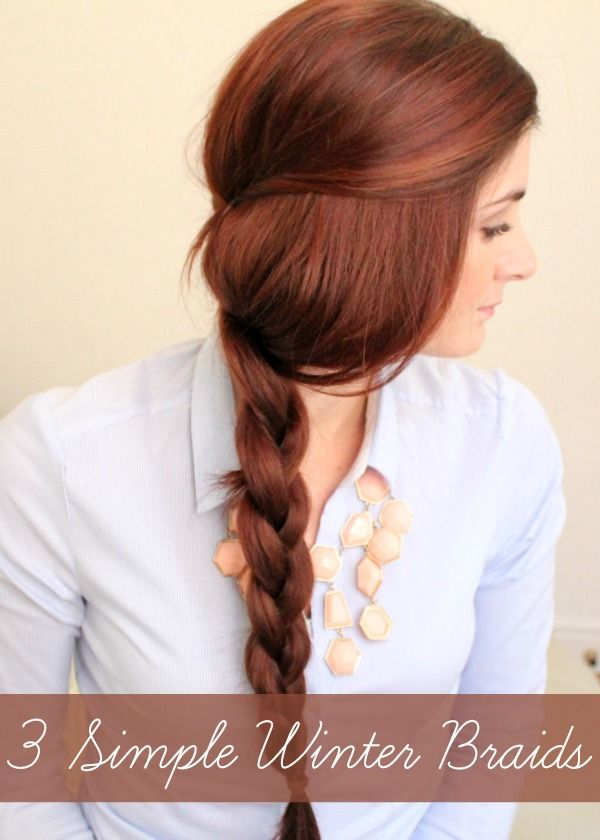 3 Simple Winter Braids