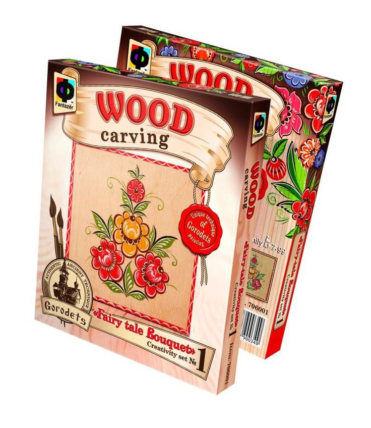 Set pictură pe lemn Fantazer