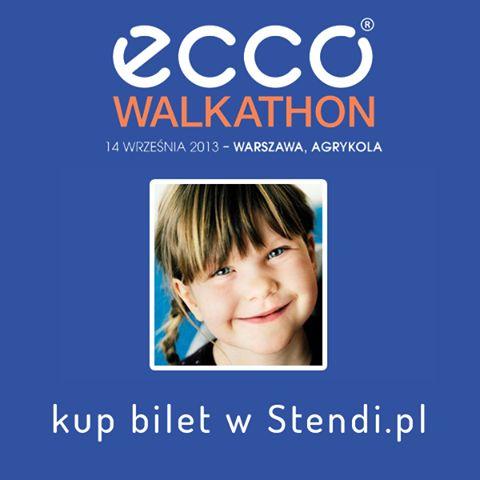 Spaceruj z Ecco na największym charytatywnym spacerze świata! Za każdy przebyty kilometr Ecco przekaże 4 zł ba wybrany przez Ciebie projekt charytatywny! Bilety online tylko w Stendi! http://bit.ly/walkhaton