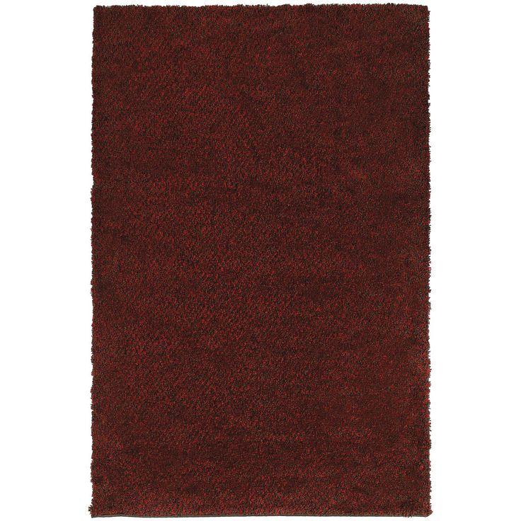 Loft 520V Red Shag Rug by Oriental Weavers
