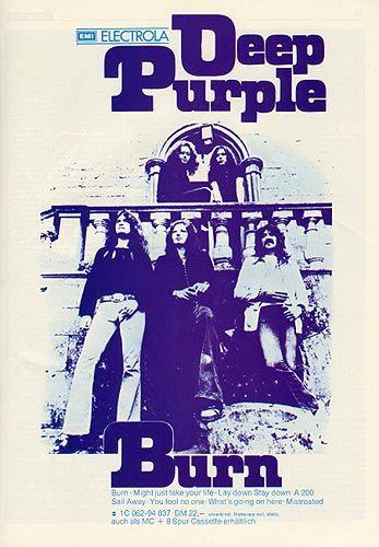 Deep Purple Burn-flyer
