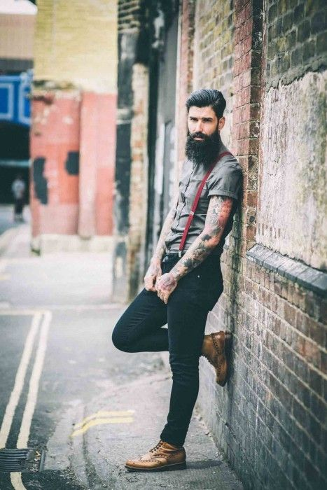 Nice style. Carlos Costa (Urban Beardsman)