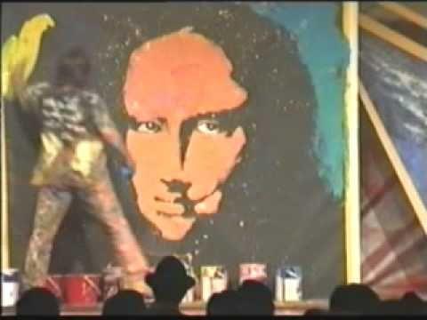 ▶ Speed Painter Jean Francois Creates Mona Lisa Art In Hong Kong - YouTube