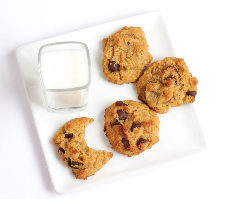 Gluten Free Chocolate Chip Cookies - almond flour, xanthan gum, baking powder, baking soda, salt, unsalted butter, granular Swerve, molasses (might sub molasses/other extract), vanilla, egg, unsweetened milk of choice, chocolate/mini chips (use sugar-free chocolate)