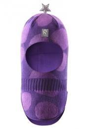 Detská kukla REIMA - SHELTER veľ.48 purple pansy