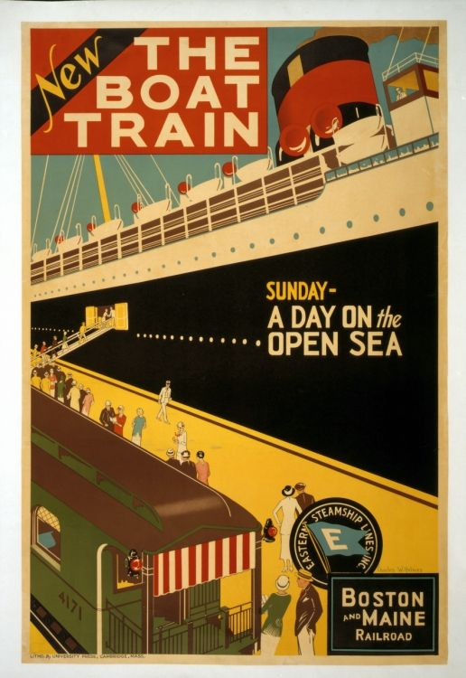 1000 images about travel like it 39 s 1955 on pinterest for Vintage train posters