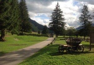 Il parco giochi di Pera in Val di Fassa