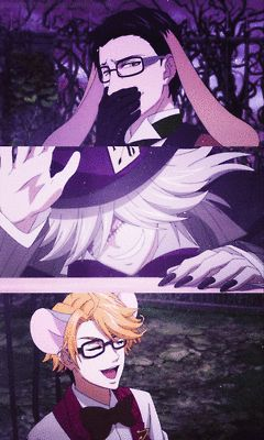 Black Butler Anime gif Funny