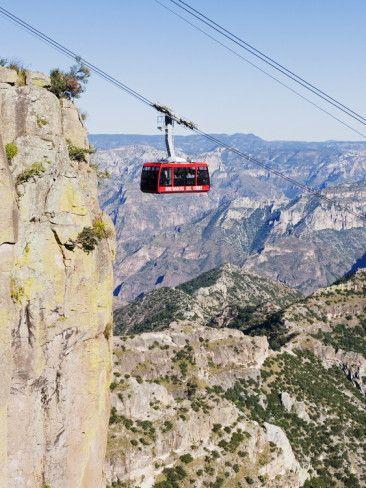 Cable Car at Barranca Del Cobre, Chihuahua State, Mexico