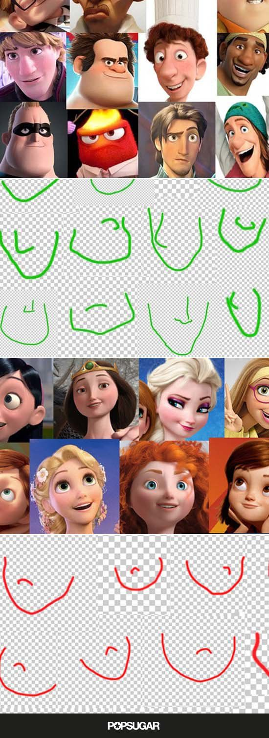 Have You Noticed That Almost Every Female Disney Pixar ...