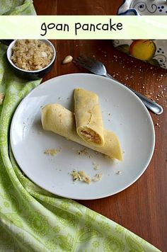 Goan Pancake/Elle Belle/Goan Pancakes filled with coconut and jaggery filling ~ Nalini'sKitchen