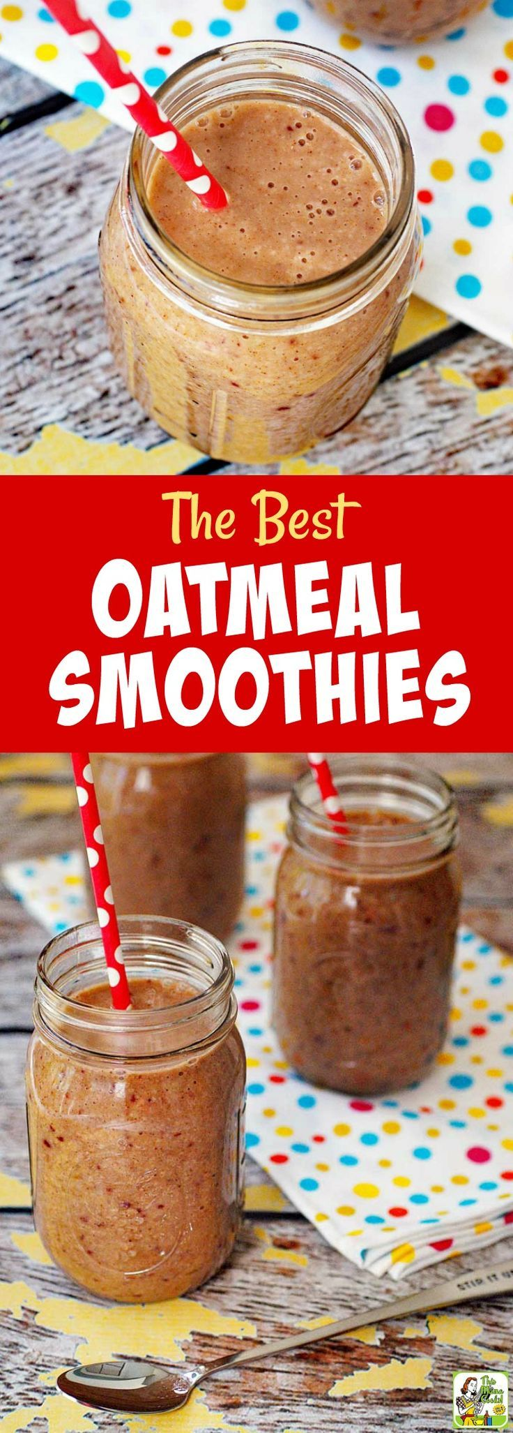 Do you love a fruit smoothies recipe for breakfast or an after workout snack? Then learn how to make the best oatmeal smoothies recipe. This is also a dairy free and gluten free smoothie recipe. #glutenfree #dairyfree #smoothie #smoothies #oatmeal #shake #healthydrink #snack #banana #strawberries #weightloss #breakfast