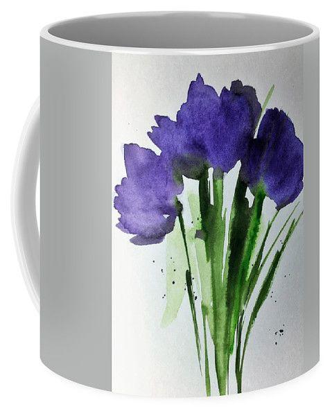 4 Purple Flowers Coffee Mug For Sale By Britta Zehm Wish List Of