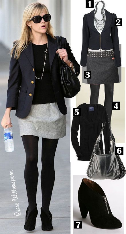 Celebrity Style Steal: Reese Witherspoon's Preppy Look