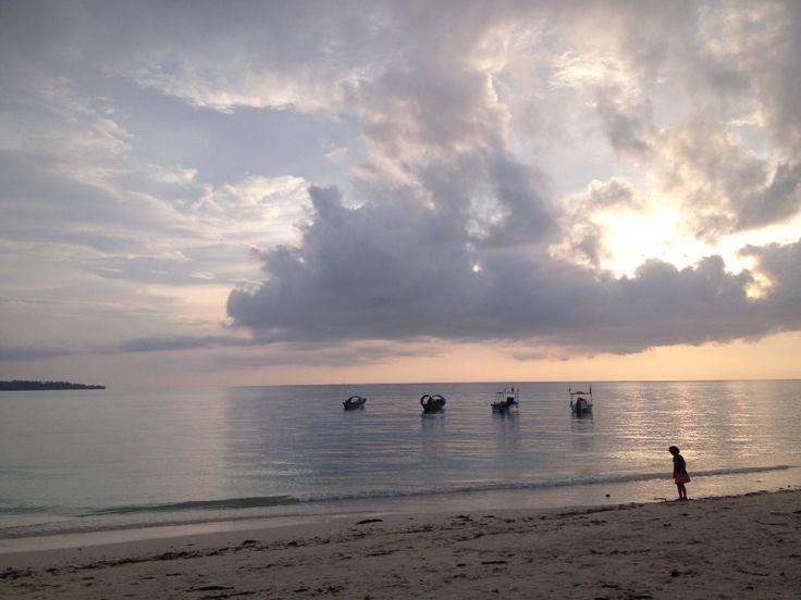 Dawn at andamans