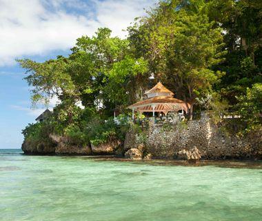 A relaxing Caribbean resort.