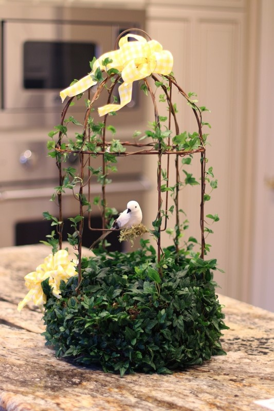 Grand Ivy Rustica Birdcage | New Topiary Shapes for Spring ...