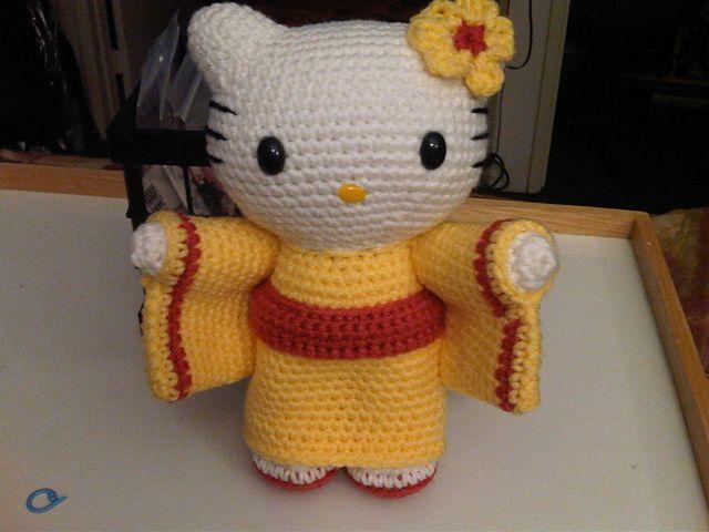 Amigurumi Cat Doll : 97 best hello kitty images on pinterest amigurumi patterns