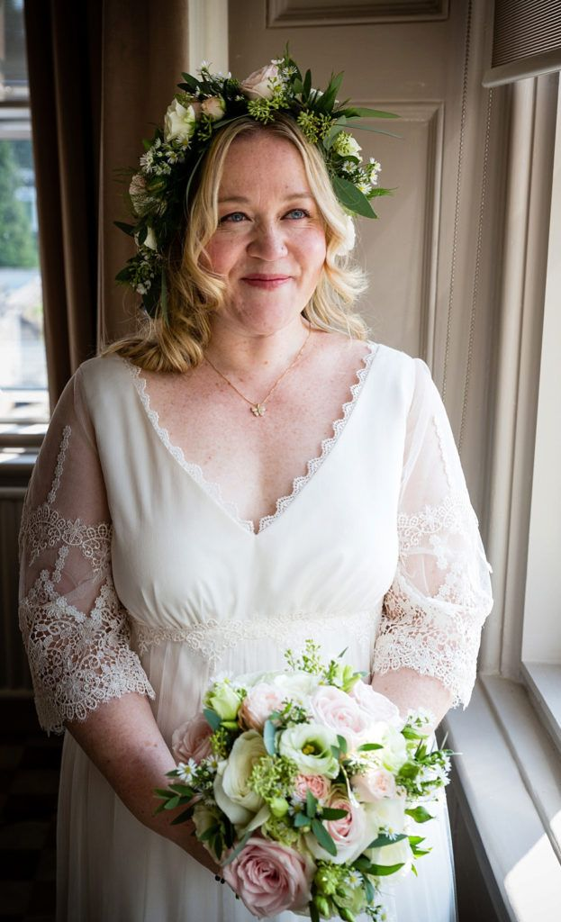 be058a8f8b76 15 Beautiful Wedding Dress Ideas for Mature Brides