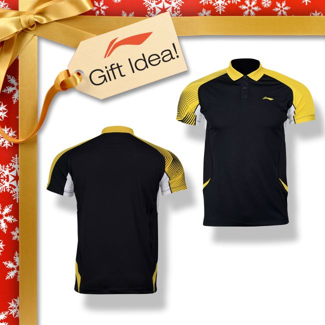 BADMINTON LOVERS GIFT IDEAS! Get them a Christmas gift they will truly LOVE this year like this Li-Ning PROVINCIAL TEAM men's badminton polo shirt [AAYJ291-2] or any of our other amazing Li-Ning badminton clothing! Find them at your local USA and CANADA Dealer or here at www.shopbadmintononline.com/clothing-for-badminton-c-5.html #MakeTheChange!