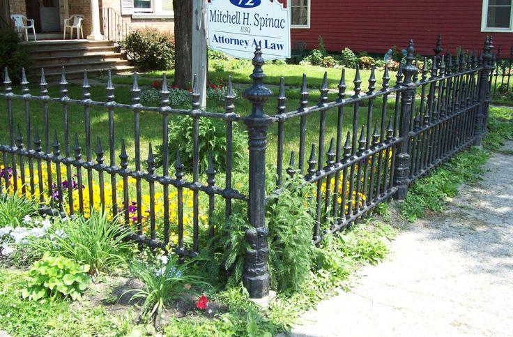 Iron Front Yard Fence