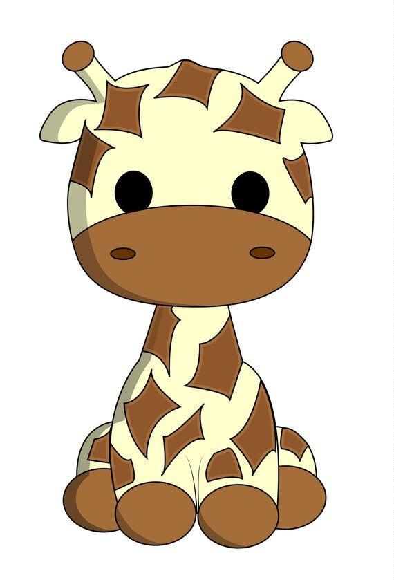 Cute Baby Giraffe Drawing at PaintingValley.com | Explore