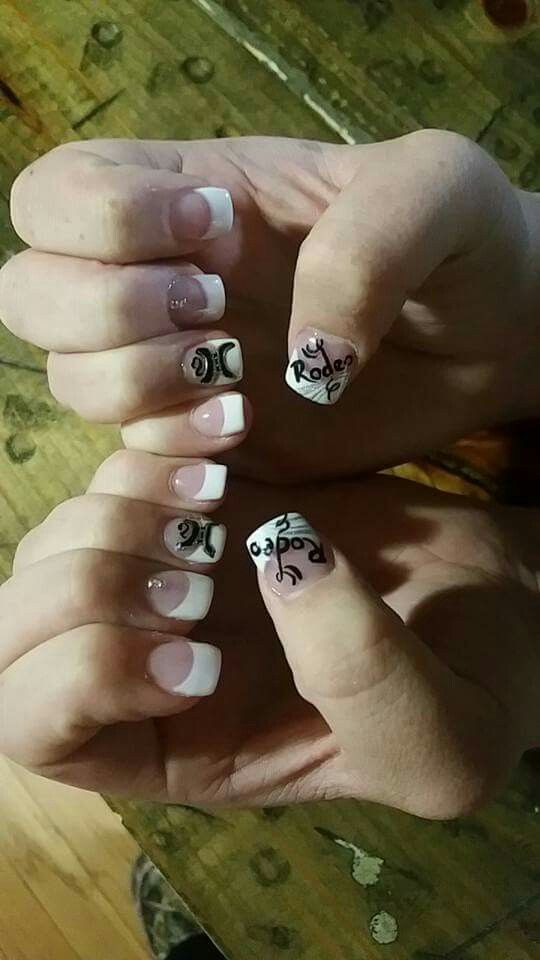 Rodeo nails! #rodeo #hooey