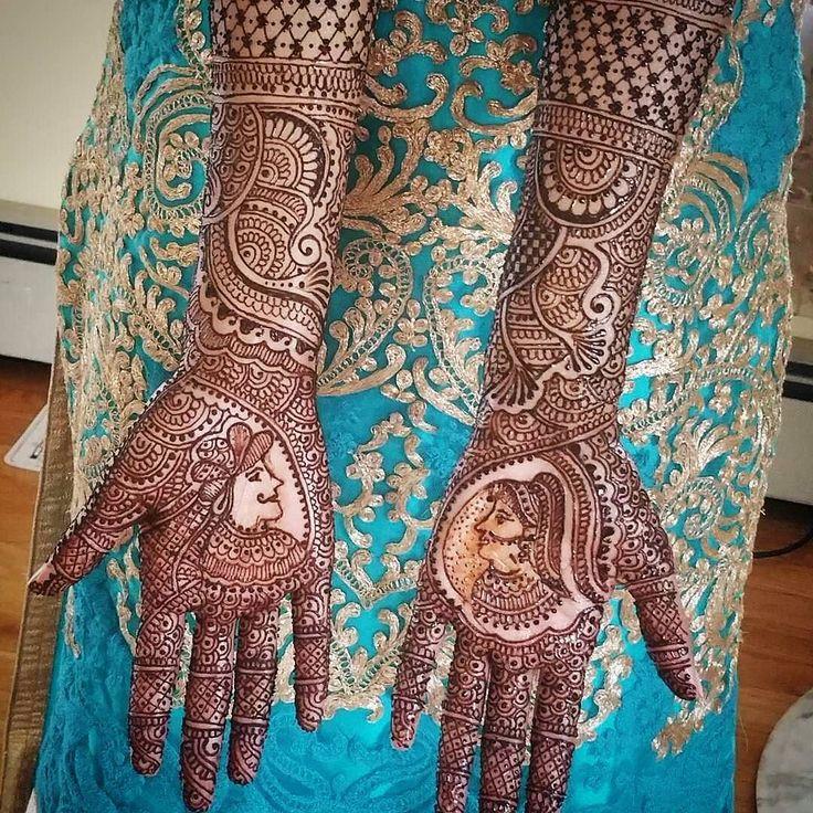 If you love @hennacafe_designs as much a we do make sure you double tap it. #Henna #mehndi #hennadesign #Regrann #design #fashion #portrait #shaadibazaar #wedding #indianwedding