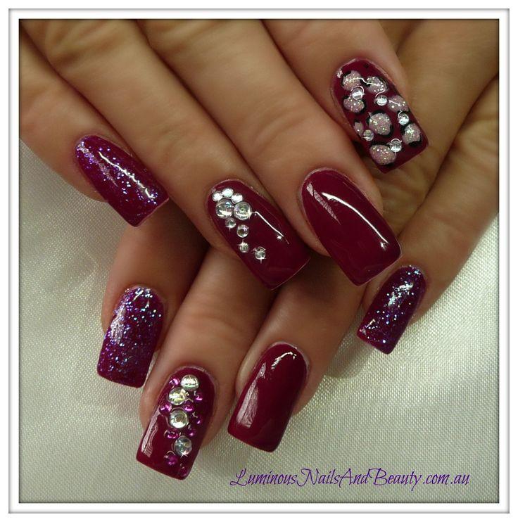 384 best chloe 39 s nails images on pinterest for Acrylic nails salon brisbane
