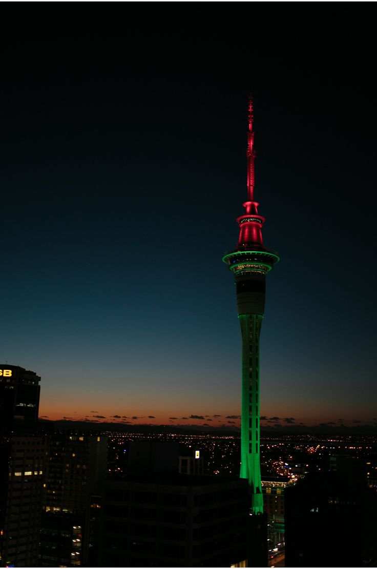 Sky City Tower, Auckland, New Zealand