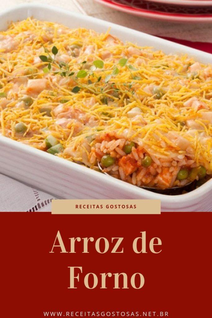 Receita De Arroz De Forno Simples Barato E Delicioso Arroz De
