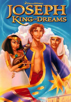 Joseph: King of Dreams - With his gift of dream interpretation and his brilliantly colored coat, Joseph inspires jealousy in his brothers and is sold into slavery in this animated retelling of the inspiring Bible story.