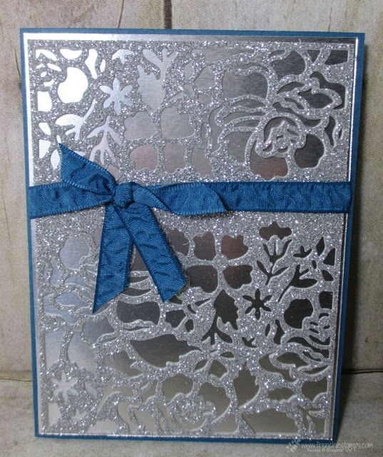 Stamp & Scrap with Frenchie: Detailed Floral Thinlits, Stampin'Up!