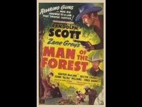 EL HOMBRE DEL BOSQUE (Man Of The Forest, 1933, Full Movie, Spanish, Cine...