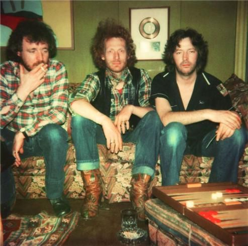 Eric Clapton, Jack Bruce and Ginger Baker, Cream, England