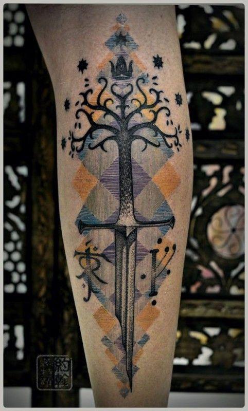 1000 ideas about sword tattoo on pinterest tattoos knife tattoo and dagger tattoo. Black Bedroom Furniture Sets. Home Design Ideas