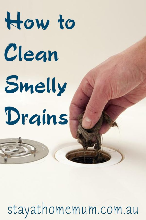 Here are tips on how to clean smelly drains before going - How to clean bathroom sink drain ...