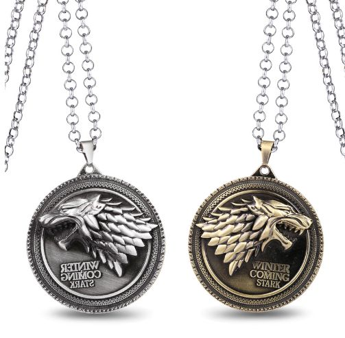 Game of Thrones Winter is Coming Necklace //Price: $9.95 & FREE Shipping //